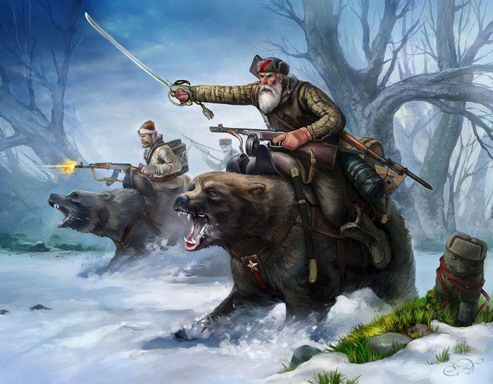 El Ejército rojo y sus inseparables amigos #1
