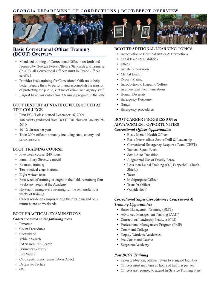 13 best My goal as an carrier images on Pinterest Career - resume for correctional officer