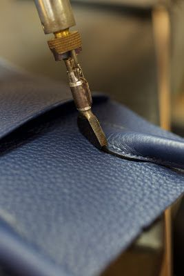 Nest by Tamara: Hermes' Atelier, Behind The Scenes Visit To See The Artisan Work Creating The Kelly Bag