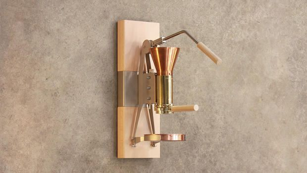 An Espresso Maker As Beautiful As The Sunrise
