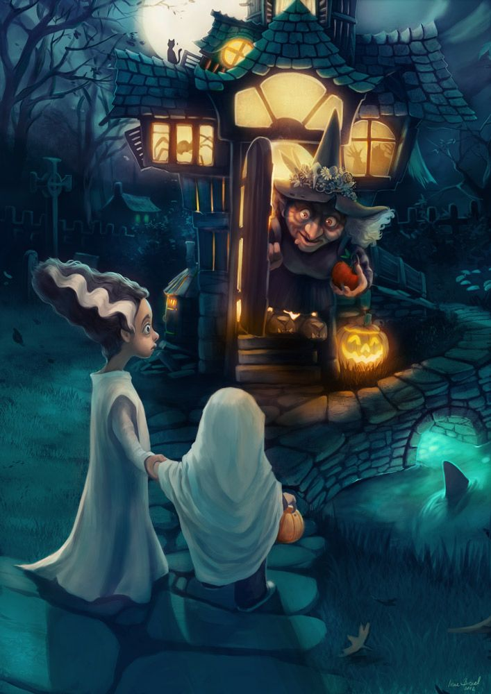 Happy Halloween by engelszorn.deviantart.com on @deviantART