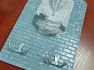 Мастерим ключницу «Старая стена»   Ярмарка Мастеров - ручная работа, handmade