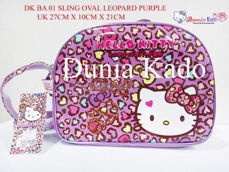 Tas Hello Kitty DK BA 01 Sling Oval Purple