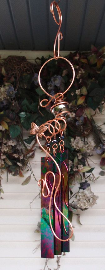 116 best Windchime images on Pinterest Wind chimes Stained