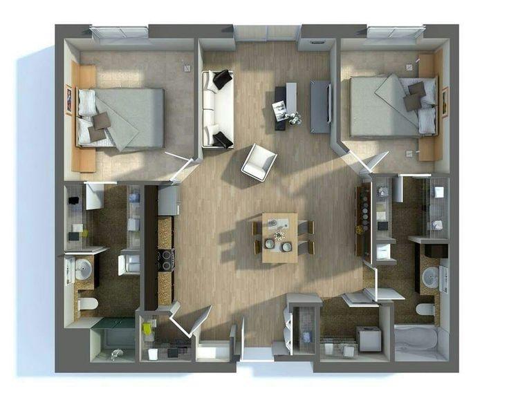 12 best ID Plan-draft images on Pinterest House blueprints, 3d - logiciel gratuit plan maison 2d