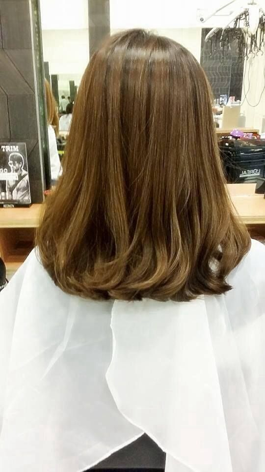 rebonding hair style 1000 ideas about permed medium hair on page 5144