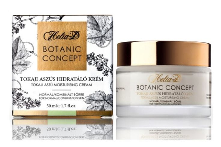 Helia-D Botanic Concept Moisturizer with Ice Wine Extract from Tokaj for normal skin