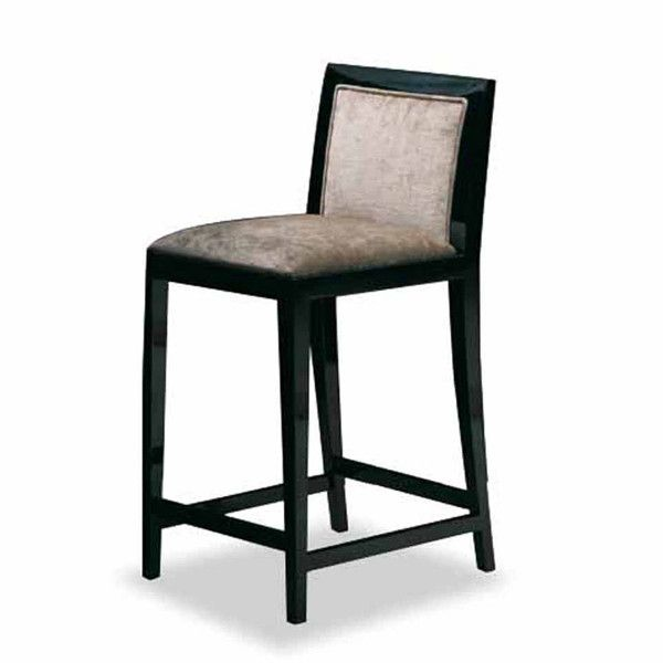 Bar chair with not removable cover