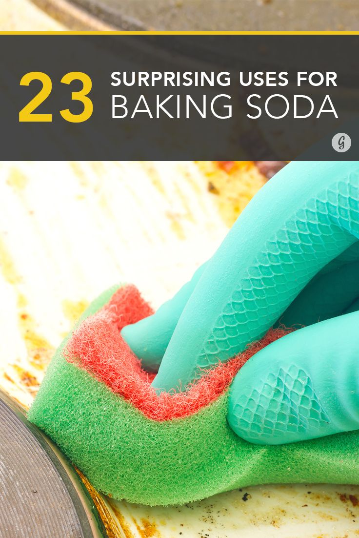 how to use baking soda to clean microwave