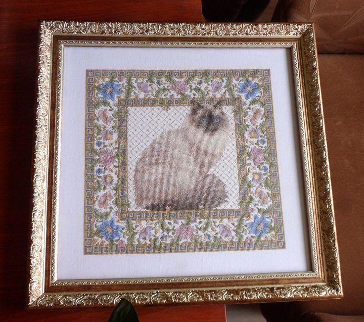 Teresa Wentzler's Tapestry Cat.