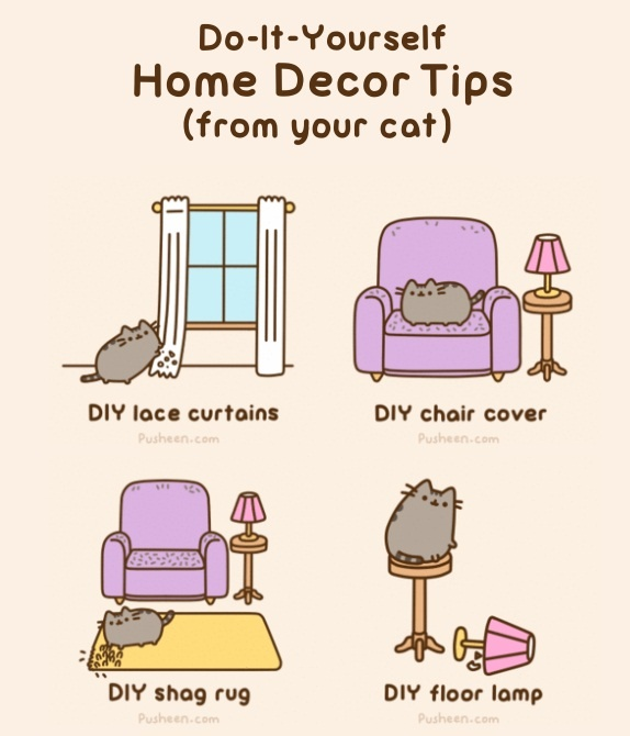 Diy Pusheen Home Decor Tips My Pusheen Favorites Pinterest