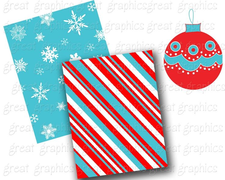 retro christmas clip art and backgrounds