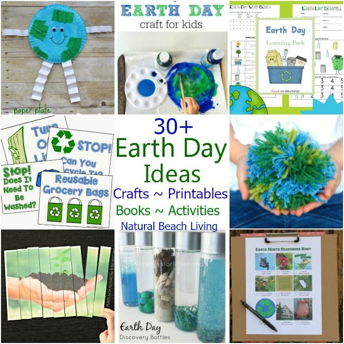 116 best images about Preschool  Earth Day on Pinterest