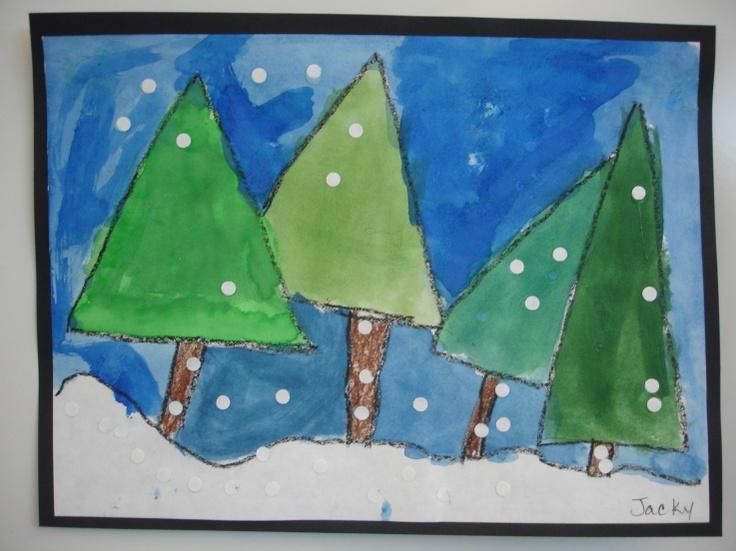 December art project idea