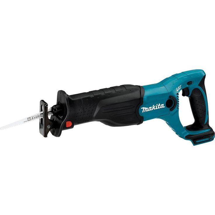 Makita 18-Volt LXT Lithium-Ion Cordless Variable Speed Lightweight Compact Reciprocating Saw with Built-in LED (Tool-Only)