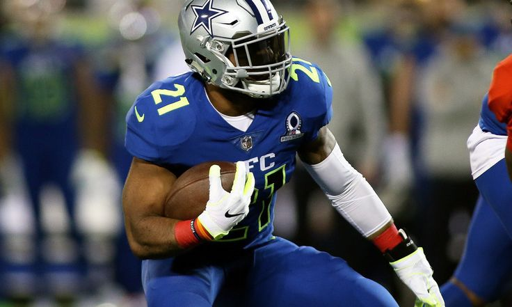 Cowboys not worried about overworking RB Ezekiel Elliott = The Dallas Cowboys' sudden return to relevance in 2016 was largely due to rookie RB Ezekiel Elliott. He was tremendous, running for 1,631 yards in the regular season. That was the most by any running back in the NFL, and Elliott didn't even play in Week 17. He got a total of 322 carries during…..
