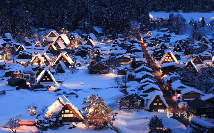 Historic Villages of Shirakawa-go and Gokayama, Japan