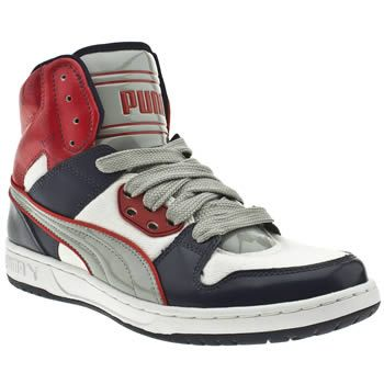 Mens Puma Royal High Street Trainers