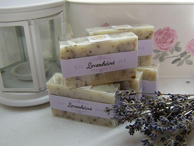 Mádlárna  Litovel, Palackého, Přírodní olivové mýdlo s levandulí a mateřídouškou
