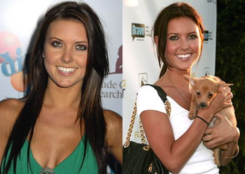 Do You Prefer Audrina's Hair Hue Warm or Cool? - www.bellasugar.com