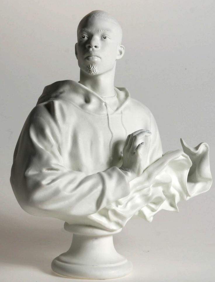 Kehinde Wiley, b-boy sculpture. #happybday