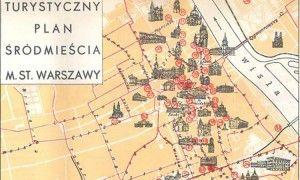 Zobacz turystyczny plan Śródmieścia z 1936 roku