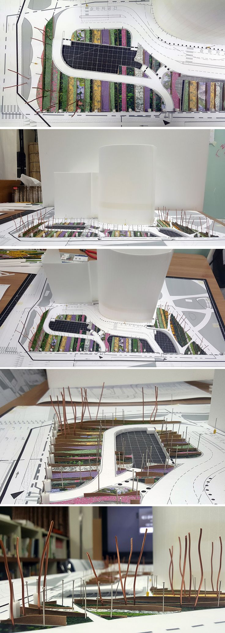 model study for L-Tower in Seoul, 2016 / Designed by Studio101