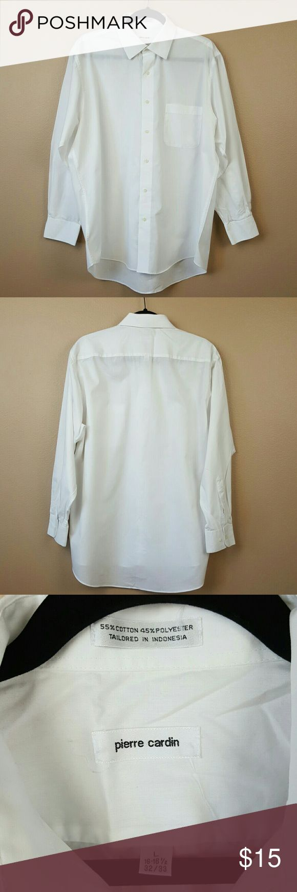 Mens leather gloves tj hughes - Pierre Cardin Mens White Dressy Button Up