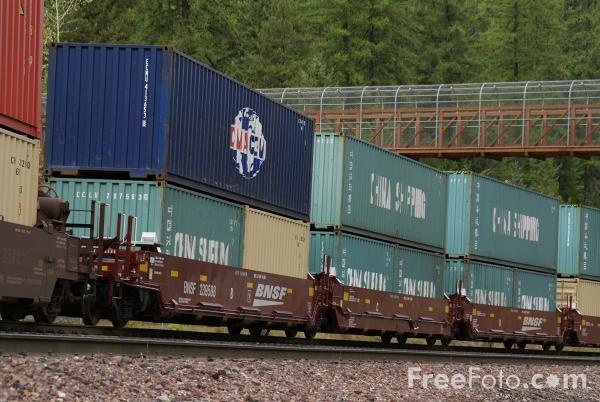 double stack container train - Google Search Trains Rail Road - railcar repair sample resume