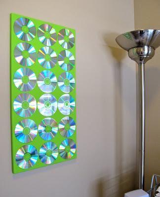 DIY Wall Art : DIY Upcycled Wall Art Project