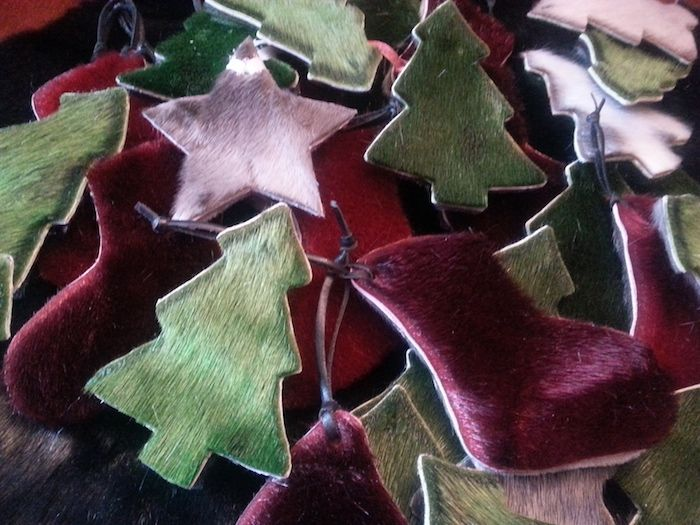 Sealskin Christmas Ornaments