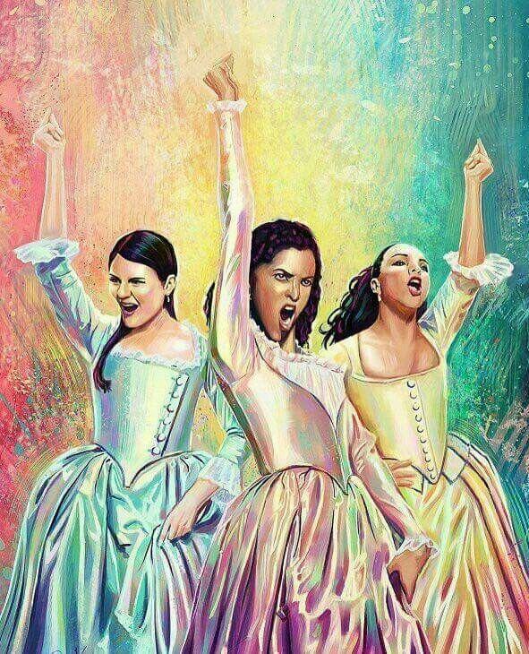 agghhhhhh // schuyler sisters hamilton angelica eliza peggy broadway theater musical theatre