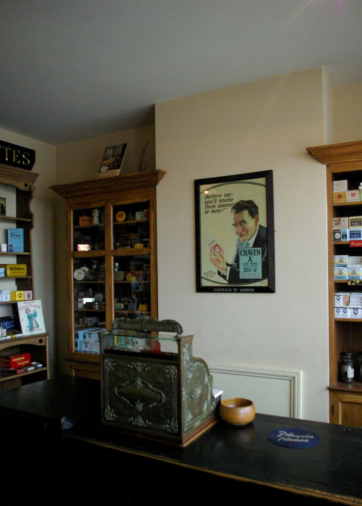 The tobacconist's shop at The Black Country Living Museum