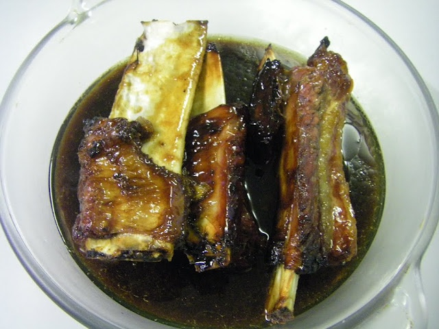 Pork Ribs with Honey and Soy Sauce