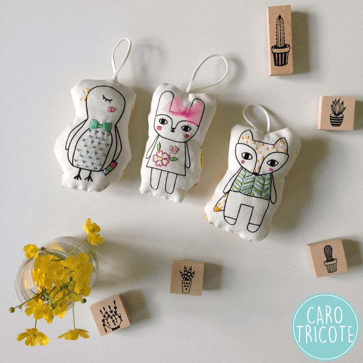 Broderie Mollie Makes