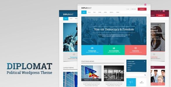 Download Political Candidate Responsive WordPress Theme  Diplomat v1.1.4 Download Political Candidate Responsive WordPress Theme  Diplomat v1.1.4 Latest Version