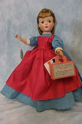 "14"" Madame Alexander  Little Women ""Meg"" Margaret face Hard Plastic doll • $200.00"
