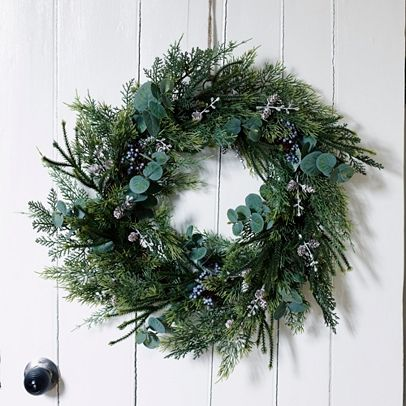 Eucalyptus And Winterberry Wreath