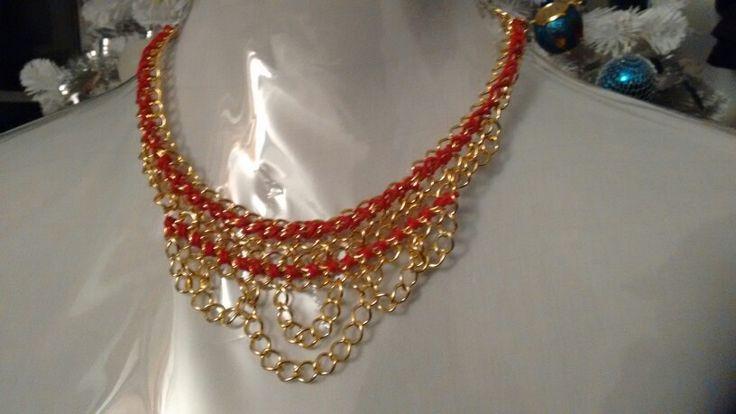 Neeklace, all handmade...