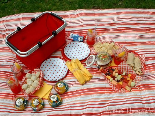 Great picnic ideas for the pool, beach or park!