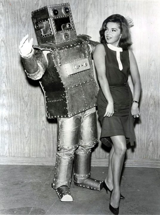 A drawback in taking a robot out dancing is they can't do the twist.