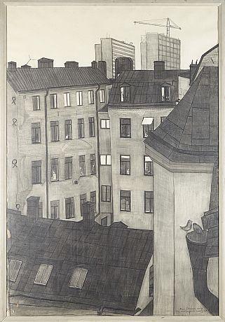 Hötorgsskraporna från Mäster Samuelsgatan - Mona Johansson