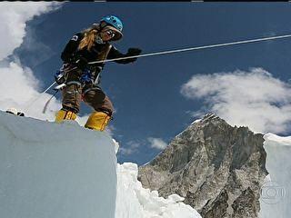 Médica é a mais jovem brasileira a chegar ao topo do Monte Everest
