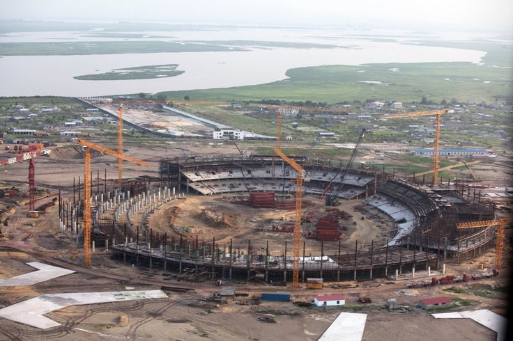 Olympic Village of Pan-African Games 2015 in Congo