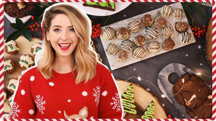 Quick & Easy Festive Treats   Zoella I love the rice krispy balls