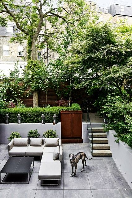 City Garden Inspiration. City GardensHouse GardensGarden Design IdeasSmall  ...