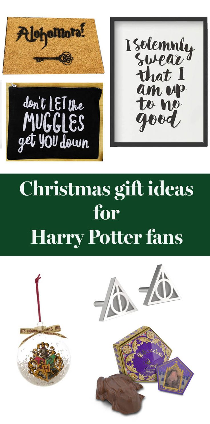 30 christmas gift ideas for the harry potter fan in your for Harry potter christmas present ideas