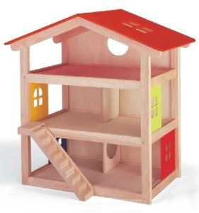 Pintoy Wooden Hillside Dolls House by Pintoy - Pintoy Toys £82.79