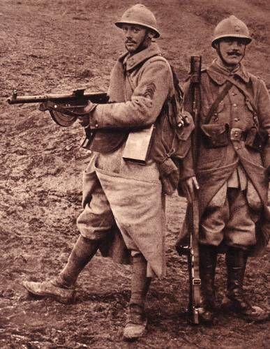 La guerre des tranchées: les nouvelles armes de l'infanterie