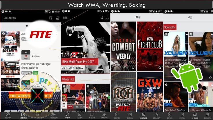 Watch Streams Live On Android Wth FITE APK For MMA Wrestling Boxing https://youtu.be/40uPQPbqOPU